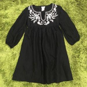 Collette Dinnigan Embroidered Silk Dress Size XS